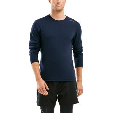T-Shirt 2XU HEAT Manches Longues Bleu 2021
